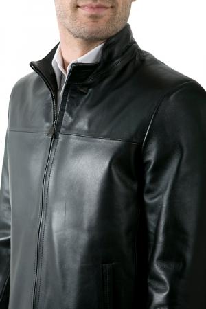 Blouson cuir chico noir giorgio