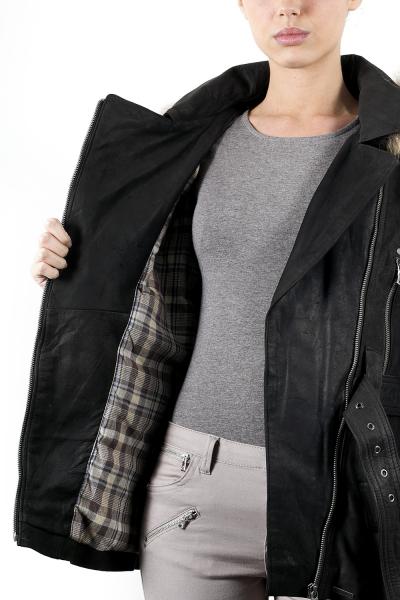 Guest Veste Cuir Kenza: : Vêtements et accessoires