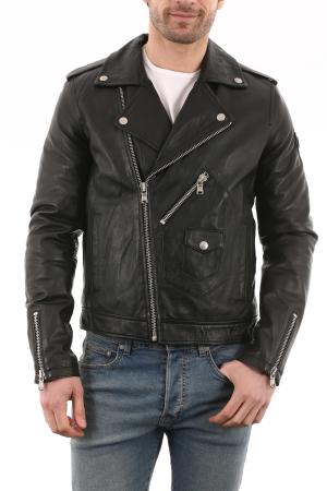 veste en cuir ou peaux homme LATTITUDE CUIR