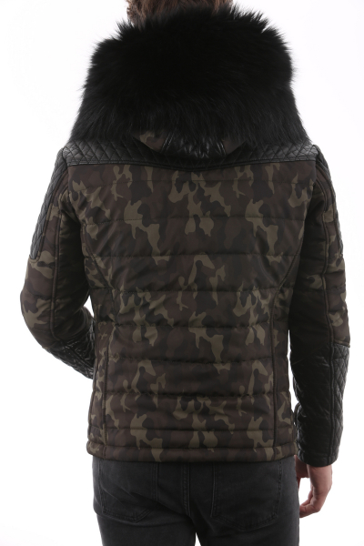 HORSPIST Carlton Camouflage Col Noir