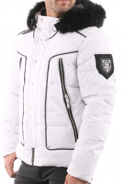HORSPIST Jackarta Blanc Col Noir