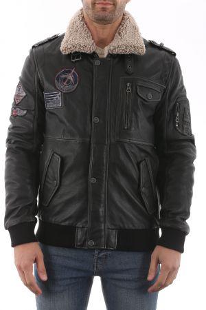 GIPSY Bomber Jacket Noir