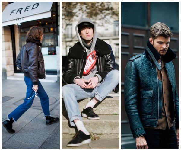 Looks La Cuir Meilleurs Fashion Homme De Milpau En Les Week wYgCnqE