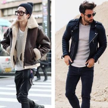 doudoune homme capuche fashion cuir