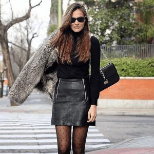 Idées look : Jupe ou pantalon en cuir pour les fêtes ?