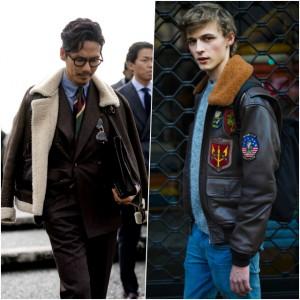 Les meilleurs looks en cuir repérés à la fashion week homme